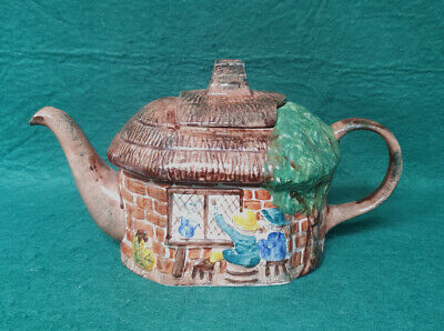 £4.99 • Buy Tony Wood Thatched Cottage Teapot