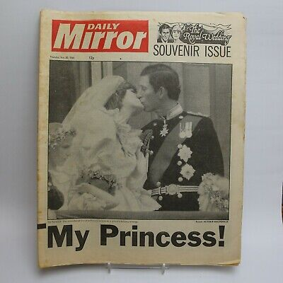 £6.25 • Buy Charles And Diana<> Engagement<>Wedding<>Divorce<>Funeral<>Newspapers (list)