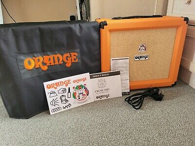 £120 • Buy Orange Crush 35RT Guitar Combo Amp + Official Cover PERFECT Condition