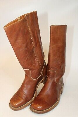 $5.50 • Buy Frye Mens Size 9.5 D Vintage Campus 14L Leather Pull On USA Made Boots 2955
