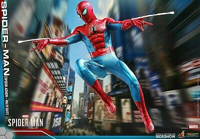 $ CDN326.04 • Buy Hot Toys Spider Man Spider Armor MK IV Suit 1:6 Scale Figure VGM43 Sideshow