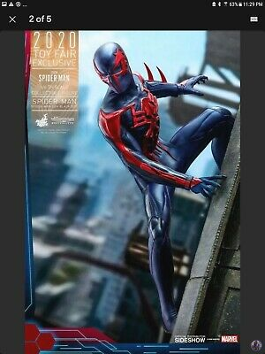 $ CDN313.46 • Buy Hot Toys Sideshow Exclusive VGM42 Spiderman Spider-Man 2099 Black Suit