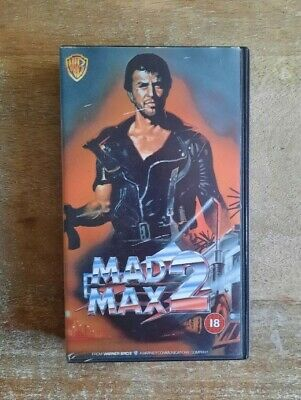 £4 • Buy Vintage Mad Max 2 Vhs Cassette Tape 1981 Very Good!
