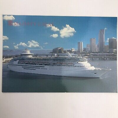 $6.69 • Buy Vintage Postcard Majesty Of The Seas Royal Caribbean Cruise Line Ship Unposted