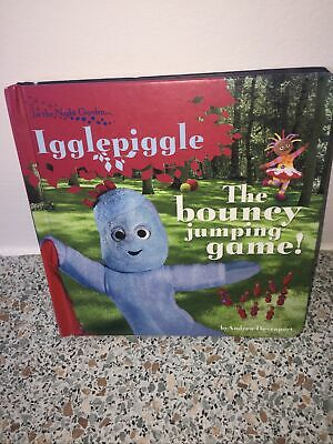 £3.89 • Buy In The Night Garden Igglepiggle The Bouncy Jumping Game Book Andrew Davenport