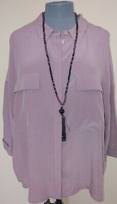 £14.99 • Buy Marks And Spencer Women AUTOGRAPH PURE SILK Shirt  Size 18