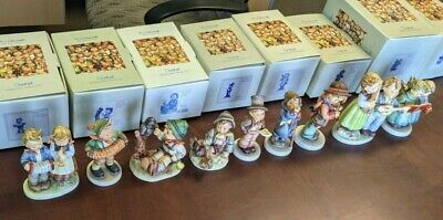 $ CDN44.06 • Buy Lot Of 9 Music Theme Vintage Hummel Goebel Germany Figurines Excellent W/Boxes