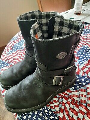 $ CDN62.94 • Buy Mens Harley Davidson Leather Boots Size 11M