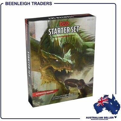 AU24.99 • Buy Dungeons & Dragons - STARTER SET - D&D Role Playing Game - BRAND NEW