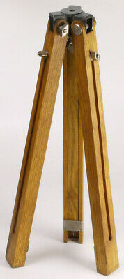 £64.07 • Buy Wooden Tripod, Heavy And Robust_for Large Format Wood Plate Field Camera_vintage