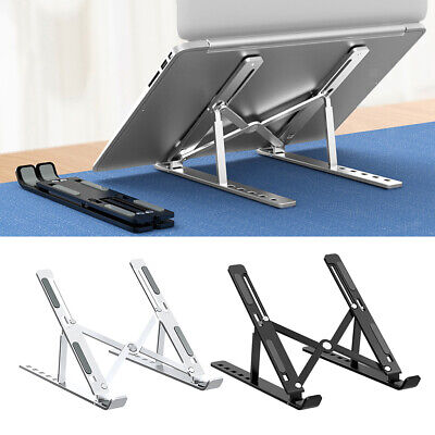 £10.96 • Buy Foldable Laptop Stand 6 Levels Height Holder Riser For  Dell XPS Samsung