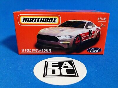 AU4.05 • Buy   2020 Matchbox Power Grabs 2019 Ford Mustang Coupe  Eadc