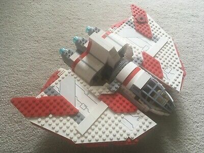 £95 • Buy Star Wars LEGO 7931 T-6 Jedi Shuttle Complete With Instruction, Box,mini Figures