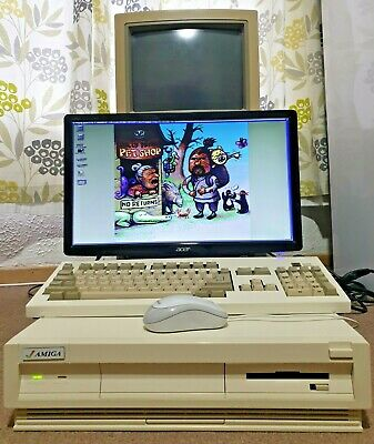 £1500 • Buy WORKING Big Box Amiga 3500, Professional Graphics Card, Upgraded & Accelerated