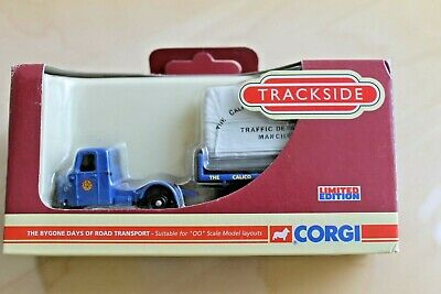 £5 • Buy DG148018 Trackside OO 1/76 Scammell Scarab Flatbed Sheeted Load Calico Printers