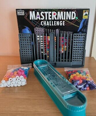 £14.99 • Buy MASTERMIND CHALLENGE By PARKER Complete Vintage Game - Good Condition