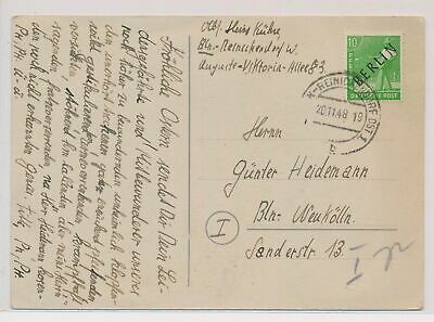 £0.72 • Buy LO06902 Germany 1948 Berlin Flowers Postcard With Nice Cancels Used