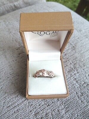 £38 • Buy Clogau Gold And Silver Ring, Size S, Tree Of Life