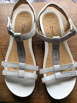 £15.10 • Buy 6.5 - 40 Clarks Artisan Unstructured Leather Cream Sandals New❤️❤️