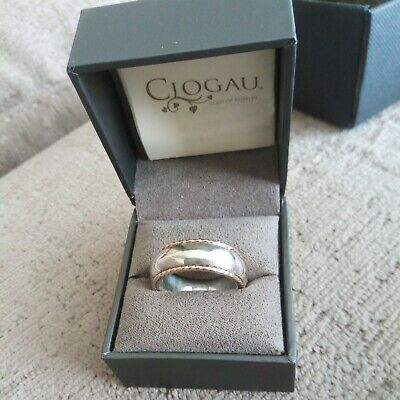 £25.80 • Buy Clogau Silver And Gold Ring, Q + 1/2
