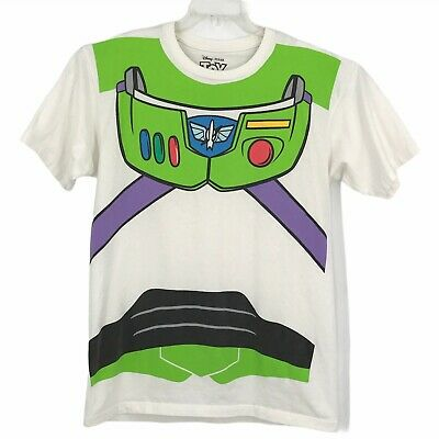 $18.88 • Buy Toy Story T-Shirt Adult Large White Buzz Lightyear Mens Costume Top Disney Pixar
