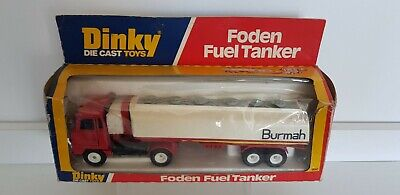 £22 • Buy Vintage Boxed Original Meccano Dinky Toys 950 Foden Burmah Fuel Tanker Lorry