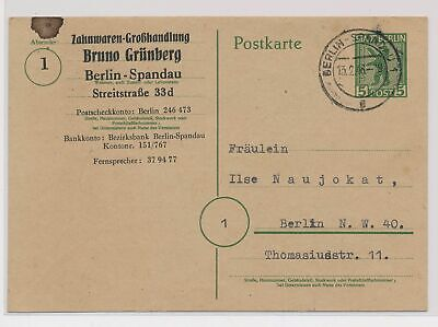 £0.72 • Buy LO07164 Germany 1946 Berlin Postcard With Nice Cancels Used