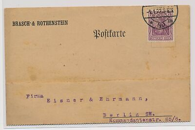 £0.72 • Buy LO07190 Germany 1922 Berlin Postcard With Nice Cancels Used