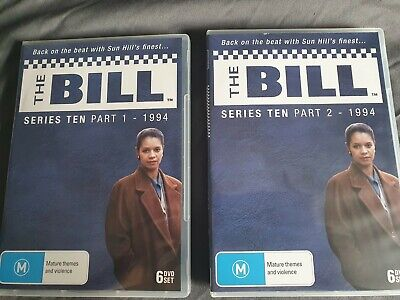 £60 • Buy The Bill Series 10 Part 1 & 2