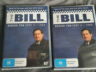 £60 • Buy The Bill Series 10 Part 3 & 4