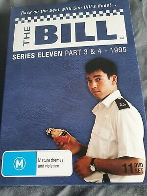 £60 • Buy The Bill Series 11 Part 3 & 4
