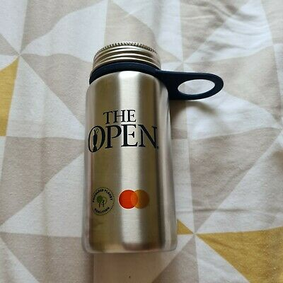 £5.50 • Buy 149th Open Golf Championship Water Bottle Flask Royal St George's 2021 Brand New