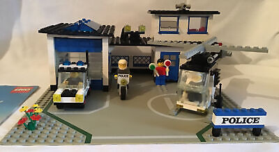 £34.99 • Buy Police Lego 6384 Police Station 1983 Vintage With Instructions. Fab Set