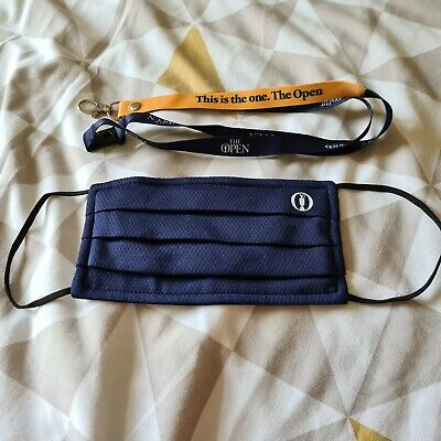 £3.20 • Buy The 149th Open Championship Facemask And Officials Only Lanyard