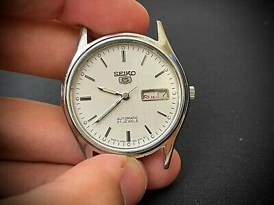 $ CDN29.43 • Buy Vintage Seiko 5 Automatic 35mm Gents Watch S3