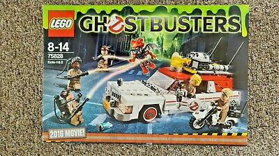 £78 • Buy LEGO Ghostbusters 75828 Ecto-1 & Ecto-2 NEW GENUINE SEALED RETIRED SET