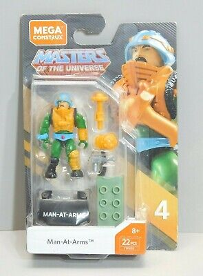 $21.50 • Buy Masters Of The Universe Mega Construx Heroes Series 4 Man At Arms Mini Figure