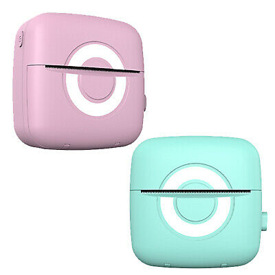 AU25.19 • Buy Photo Printer Wireless Bluetooth Mobile Printer With USB Cable For Study