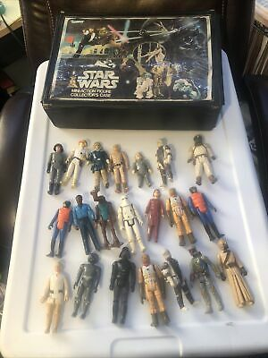$ CDN250.51 • Buy Vintage STAR WARS 21 FIGURE LOT With Boba Fett And Case