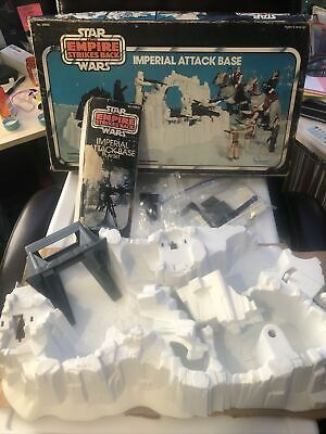 $ CDN188.83 • Buy Vintage Star Wars Imperial Attack Base Playset Complete With Box