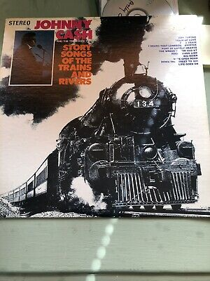 £6 • Buy Johnny Cash Story Songs Of The Trains And Rivers LP Sun 104 US ImpEX/EX 1969