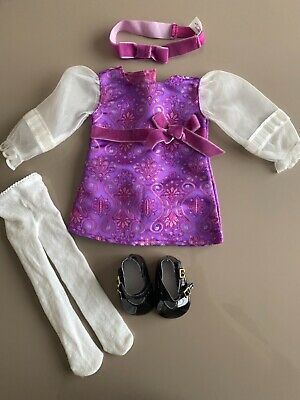 £35 • Buy American Girl Doll Julie Holiday Outfit