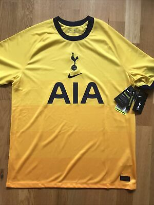 £24.99 • Buy Tottenham Hotspurs FC 2020/21 Third Shirt Brand New With Tags In Bag. Adult Lge