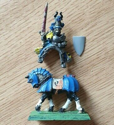 £9.99 • Buy Knights Panther Grand Master On Horse, Warhammer Metal Oop