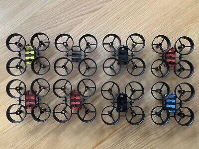 £13 • Buy 8x Makerfire Micro FPV Racing Drone Frame 65mm Tiny Whoop