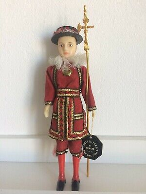£3.90 • Buy Vintage Collectors Costume Doll Beefeater By Rexard Tower Of London, 20cm, 1960s
