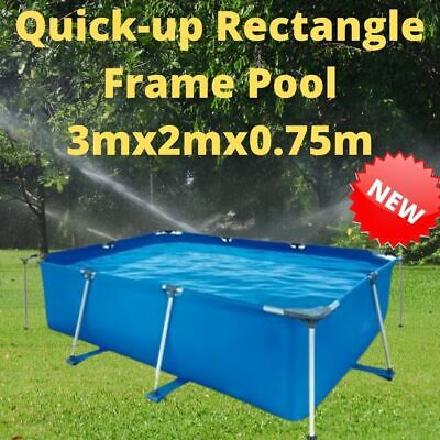 £249.99 • Buy Quick Up Quick Up Rectangle Frame Pool 10ft (3m X 2m X 0.75m) – Brand New