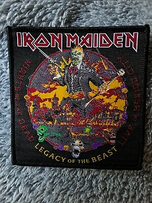 £5 • Buy Iron Maiden PATCH Legacy Of The Beast NIGHTS Of The DEAD Mexico Woven HQ NEW