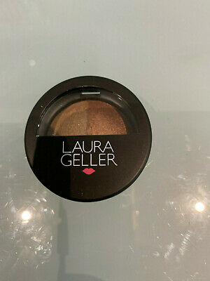 £5 • Buy Laura Geller Baked Color Intense Shadow Duo In  STONE / TERRACOTTA NEW