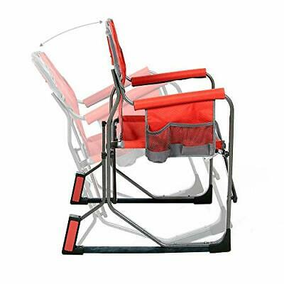 $97.68 • Buy Mac Sports MacRocker Outdoor Foldable Rocking Chair | Portable Collapsible Sp...